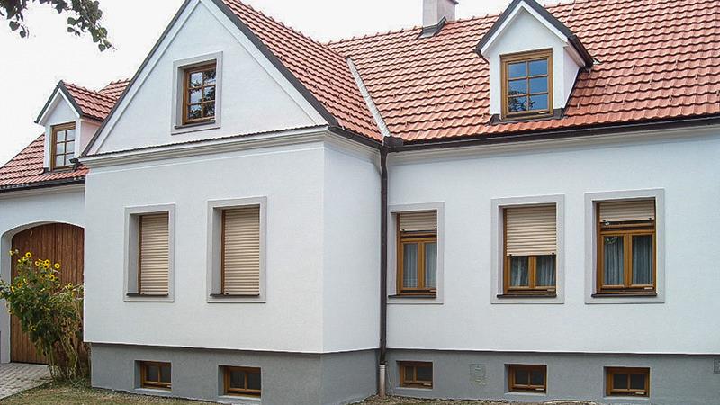 Fassade nach der Renovierung